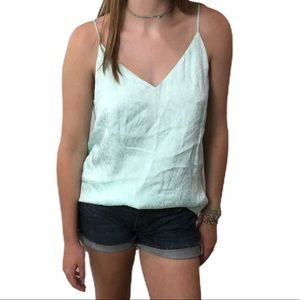 NWT Calvin Klein Mint Camisole Lace Pattern